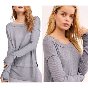 Free People We The Free North Shore Thermal Tunic
